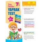 Tüm Dersler Yaprak Test 7.Sınıf