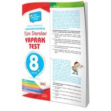 4 Element Tüm Dersler Yaprak Test 8.Sınıf